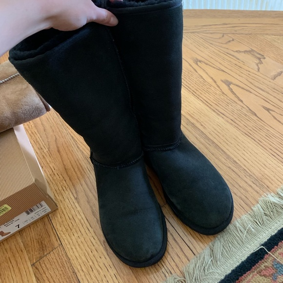 UGG Shoes - Black tall ugg boots